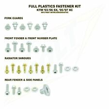 KTM BOLT FITTING KIT SX 03 - 06 - XC 05 - 07