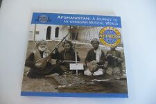 AFGHANISTAN: A JOURNEY TO AN UNKNOWN MUSICAL WORLD.CD TRADITIONAL MUSICIANS.