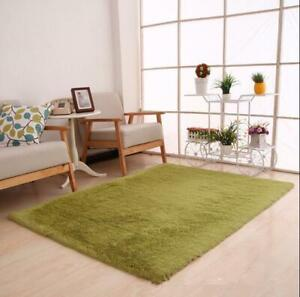 Solid Bedroom Warm Area Rug Mats Silky Plush Point Rugs Big Purple Carpets 2020
