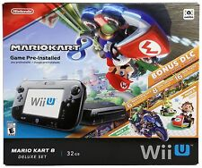 Nintendo Wii U Console Mario Kart 8 DELUXE Set R