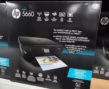 NEW Sealed HP Envy 5660 e-All-in-One Inkjet Wireless Printer Copier Scanner