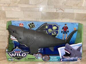 Wild Quest Shark Playset w/ Glow-in-the-Dark Figures by Chap Mei