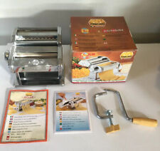 Atlas Marcato Pasta Noodle Maker #150 Deluxe W/ Pastabike Made In Italy EUC