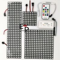 WS2812B RGB Flexible LED Panel Matrix Programmable Display Screen + Controller