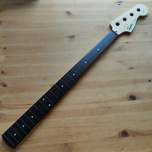 Used Relic 1999 Squier By Fender P Prescision Bass Guitar Neck Fretless Rosewood