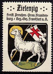 413467/ Reklamemarke – Kaffee Hag – Wappen von Zielenzig / Brandenburg