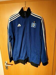HSV Sweatshirtjacke in Blau von Adidas Größe XL