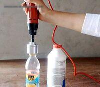 220V Manual Electric Bottle Cap Sealer Plastic Bottle Capping Machine 10-50mm