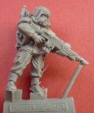 FORGEWORLD CADIAN COMMAND Respirator TROOPER with LASGUN (A) - Bits 40K
