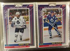 Toronto Maple Leafs Ltd Ed. Set '93-94 & Album - Doug Gilmour, Wendel Clark