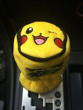 Pikachu Pokemon Car Accessory : Manual or Round-Head Shift Knob Gear Stick Cover