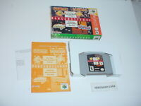 NAMCO MUSEUM 64 game complete in Box w/ Manual for NINTENDO 64 N64