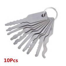 10Pcs Emergency Car Opening Kit Access Door Easy Unlock Keys Tool Auto Locks Set