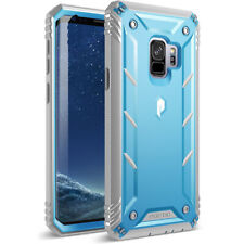 Poetic For Galaxy S9 [Double Layered] Shockproof Hard Shell Case Cover Blue