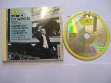 FURTWÄNGLER/SCHUMANN Klavierkonzert/Cellokonzert - 1989 EU CD REMASTERED BARGAIN