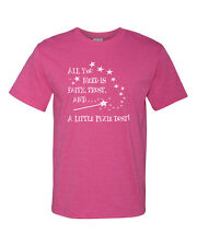 All You Need Is Faith Trust And A Little Pixie Dust Cotton Unisex T-Shirt Tee