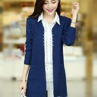 2019 Spring Autumn Women Korean Fashion Loose Knitting Cardigan Sweater Coat