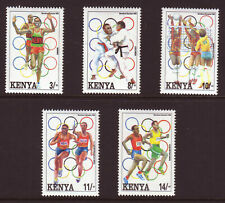KENYA - 1992 OLYMPIC GAMES BARCELONA - 2nd ISSUE - MINT NEVER HINGED - SEE SCAN