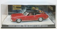 Fabbri 1/43 Scale Diecast - Mercury Cougar - On Her Majesty's Secret Service