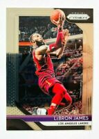 2018-19 Panini Prizm LeBron James Card #6, Cavaliers - Lakers Star!