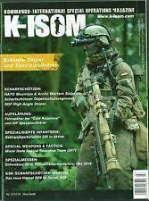 K-ISOM 3/2016 Special Operations Spezialkräfte Magazin Kommando Bundeswehr Waffe