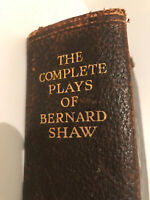 1937 The Complete Plays of Bernard Shaw - First Edition Bernard Shaw Collectable