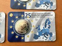2 euro 2019 Belgique - België - 25 Ans Institut Monétaire - Blister Neuf - FR