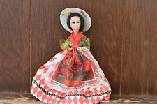 Fabulous VINTAGE Monegasque Monaco Traditional Costume Doll - 15cm Tall