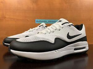 Nike Air Max 1 G Spikeless Golf Shoes Oreo White Black Men's Size 9 CI7576-100