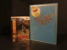 Legend of Zelda Skyward Sword Wii Collector's Edition and Strategy Guide