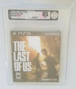 The Last of Us VGA 85 PS3 Playstation Near Mint+ WATA 9.2 Sealed Rare