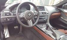 Kit Pédales Pédalier Aluminium Brossé BMW Série 5 F10 Boîte Auto SANS PERÇAGE