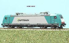 ACME 60419 Locomotiva E 483-013 livrea CAPTRAIN argento verde