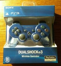 Third Party PS3 Controller Metallic Blue Dualshock 3 Open Box