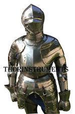 Larp Fantasy Medieval Steel Full Armor suit