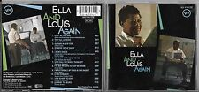 CD 12 TITRES ELLA FITZGERALD & LOUIS ARMSTRONG : ELLA & LOUIS AGAIN WEST GERMANY