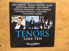 TENORS TAKE TEN - UK PROMO CD:BLAKE, RUSSELL WATSON, ANSELL, CARRERAS, DOMINGO*B