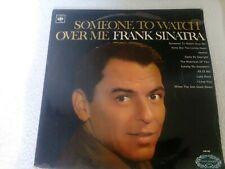 FRANK SINATRA.SOME-ONE TO WATCH OVER ME.VINYL ALBUM.CBS/HALLMARK.HM592.GCON.1968
