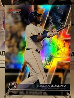 YORDAN ALVAREZ 2020 BOWMANS BEST REFRACTOR ROOKIE RC SP HOUSTON ASTROS