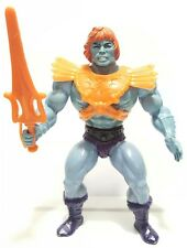 FAKER MOTU nearly complete vintage soft head sword armor blue He-Man