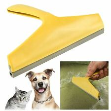 New Pet Hair Remover Rubber Blade Dry Cleaning Dog Cat Cleaner Magic Lint