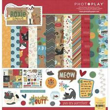 Scrapbooking Crafts Photo Play 12X12 Paper Pack Roxie & Friends Cats Mice Meow