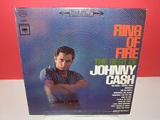 Johnny Cash, Ring Of Fire, The Best Of LP. 1963  STEREO