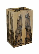 Elie Bleu Ebony White Wood Cabinet Humidor 150  Count NIB Made in France