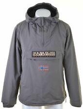 NAPAPIJRI Mens Pullover Jacket Size 42 2XL Brown Polyamide  BH11