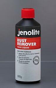 Jenolite Car Van Rust Killer Remover Removal Thick Liquid Treatment Metal 500g