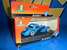 Auto di metallo vintage BUGATTI DECOUVRABLE SOLIDO scala 1/43