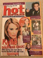 **KYLIE MINOGUE NEIGHBOURS - GARETH GATES UK HOT STARS MAGAZINE 2002**