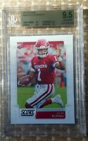 Kyler Murray 2019 Panini Score # 384 RC Rookie BGS 9.5 GEM - MINT = TO PSA 10