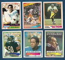 1984 TOPPS STEELERS FRANCO HARRIS INSTANT REPLAY CARD #166